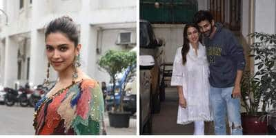 Spotted; Sara Ali Khan And Kartik Aaryan Pose Together For The Cameras, Deepika Padukone Continues To Promote Chhapaak
