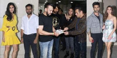 Katrina Kaif, Pulkit-Kriti And Other Bollywood Celebs Attend Salman Khan's 54th Birthday Bash! See Pictures...