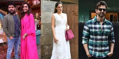 Spotted: Kapil Sharma Shoots With Deepika Padukone, Nargis Fakhri Is Back In Town While Hrithik Roshan Spreads His Charm!