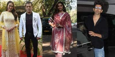 Spotted: Salman Khan Promotes Dabangg 3 With Sonakshi And Saiee, Kartik Meets KJo At His Office!
