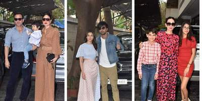 Alia Bhatt Joins Ranbir Kapoor For The Annual Kapoor Family Christmas Luncheon But It Is Taimur, As Usual, Stealing The Spotlight