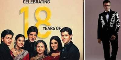 KaranJohar Gets Emotional As Kabhi Khushi Kabhie Gham Completes 18 Years, Writes 'Blessed To Have This Story To Look Back To'