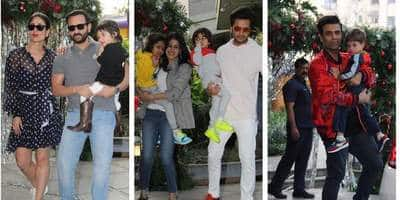 Bollywood Showers Love On Taimur Ali Khan As They Attend His Birthday Bash