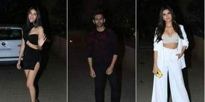 Bollywood's Gen Next Stars Partied Hard At Punit Malhotra's Valentine Day Bash