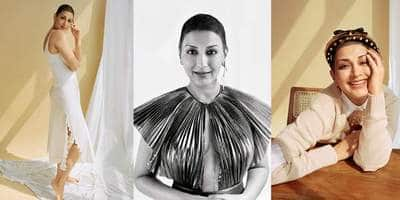 In Pictures: Sonali Bendre Conveys An Empowering Message Through This Photoshoot!