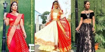Here Is How Hina Khan Is Redefining Fusion And Edgy Fashion!