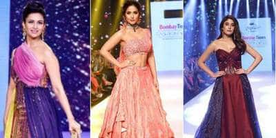 TV Celebs Set The Ramp On Fire At A Recent Fashion Week In Mumbai