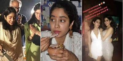 In Pictures: Janhvi Kapoor's 23rd Birthday Is All About Love, Wishes And Serene Varanasi