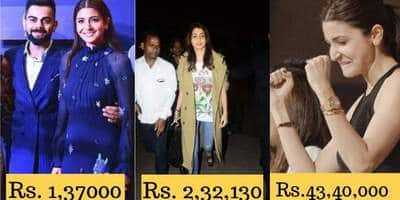 Anushka Sharma's Expensive Fashion Statements Can Burn A Bigger Hole In Your Pocket Than Those On The Moon