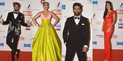In Pictures: Bollywood Celebs Make Heads Turn At Hello Awards 2019!