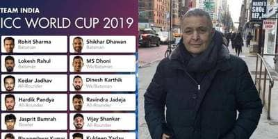 Rishi Kapoor Questions The India's World Cup Squad, 'Why Most Of Our Cricketers Sport Beards?'