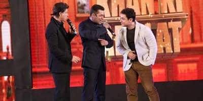 Shah Rukh, Salman And Aamir Had A Secret Meeting At Mannat, Are The Khans Finally Coming Together For A Film?