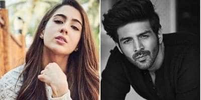 Sara Ali Khan Once Again Found Herself In A Fix, Got Questioned On Kartik Aaryan, Says 'I Promise We Would Get Over This Kartik Aaryan Thing'
