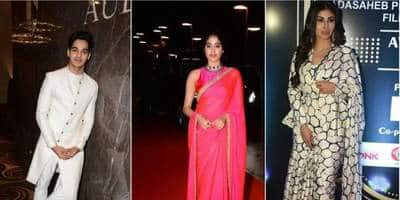 Next Gen Bollywood Celebs Rule The Red Carpet At Dada Saheb Phalke Excellence Award