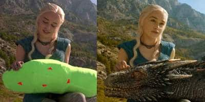 10 Pictures From Game Of Thrones Before And After Special Effects That Change The Way You See The Show
