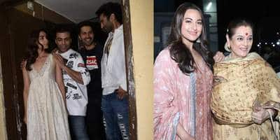 In Pictures: Bollywood Celebs Turn Up To Cheer For Kalank At A Special Screening In Mumbai!