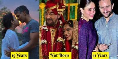 The Age Of These Bollywood Star Wives During The 1st Marriage Of Their Present Husbands Will Surprise You!