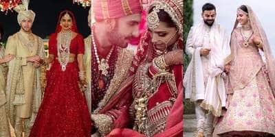 In Pictures: Bollywood Celebs Who Wore Sabyasachi On Their Wedding Day!