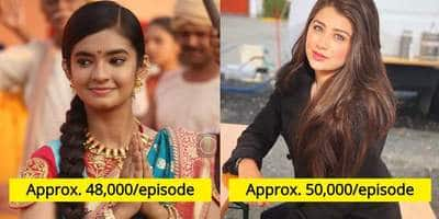 The Per Day Salary Of These TV Actresses Under 20 Will Put You To Shame!