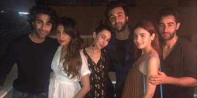 Ranbir Kapoor And Alia Bhatt Hang Out With His Cousins!