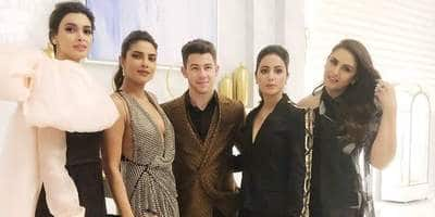 Cannes 2019: Priyanka-Nick Chilling With Diana Penty, Huma Qureshi And Hina Khan