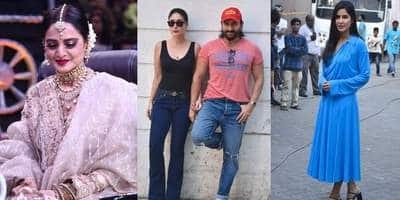 Saif- Kareena Make A Hot Appearance, Katrina Kaif And Rekha Look Perfect