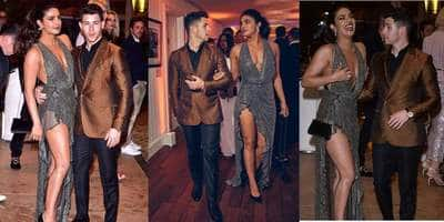 Cannes 2019: Priyanka Chopra And Nick Jonas At The Vanity Fair Party