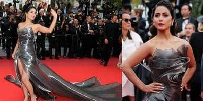 Cannes 2019: Hina Khan Shines Bright On Her Second Red Carpet Appearance
