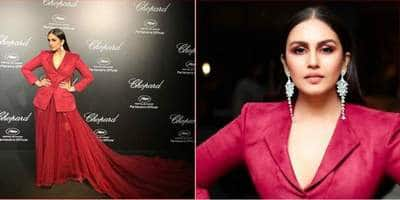 Cannes 2019: Huma Qureshi Is A Stunner In Red For Her Second Cannes Appearance