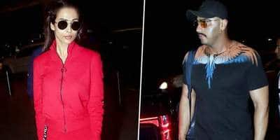 Arjun Kapoor And Malaika Arora Fly To New York To Celebrate His 34th Birthday