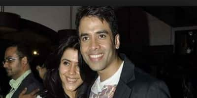 Ekta Kapoor Confesses How She Once Called Cops On Brother Tusshar Kapoor