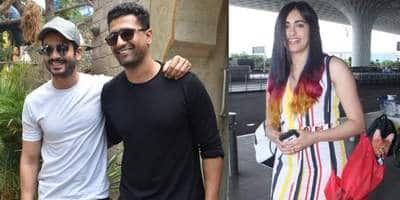 Vicky Kaushal Goes Out With Brother Sunny