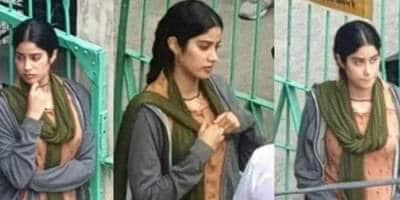 RoohiAfza: Janhvi Kapoor's Deglam Look Goes Viral.