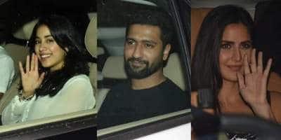 Vicky Kaushal, Katrina Kaif, Janhvi Kapoor And Other Celebs Attend Karan Johar's House Party! See Pictures...
