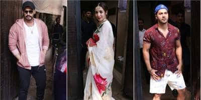 Celebs Arrive At Sonam Kapoor's Birthday Bash But We Have Our Eyes On Malaika Arora
