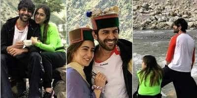 Sara Ali Khan And Kartik Aaryan Know How To Have Fun Between Work, And Their Pictures From Shimla Are Proof!