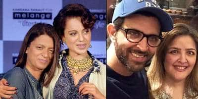 Hrithik Roshan's Sister Sunaina Physically Assaulted By Her Family For Loving A Muslim Man, Claims Kangana Ranaut's Sister