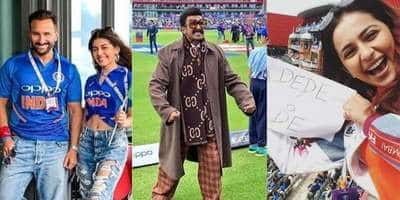 India Vs. Pakistan World Cup: Ranveer Singh, Saif Ali Khan And All The Other Celebrities Spotted Cheering From The Stands