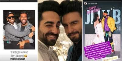 On Ranveer Singh's 34th Birthday Bollywood Shows Him Immense Love
