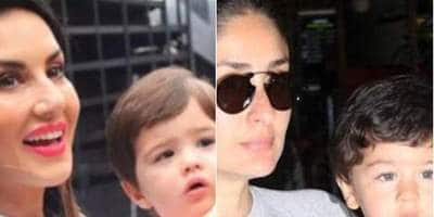 Sunny Leone On Son Asher Being Compared To Taimur Ali Khan: 'Both Have Golu Faces'