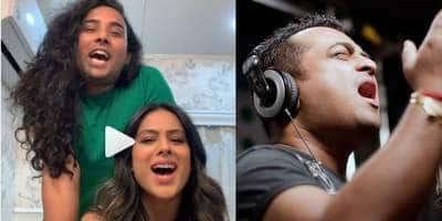 TV Actress Nia Sharma Sings 'Main Jaha Rahoon', Gets Trolled By The Original Singer!