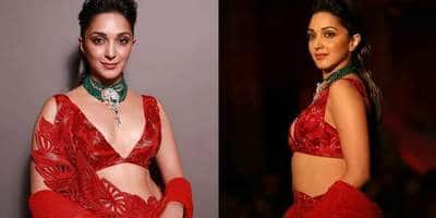 Kiara Advani Looks Stunning In Red At The India Couture Week