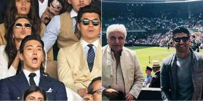 Celebs At The Wimbledon Final 2019