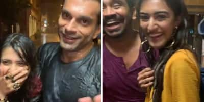 Karan Singh Grover AKA Mr. Bajaj's Makeup Washes Off In The Mumbai Rain And The Cast Of Kasautii Can't Stop Laughing