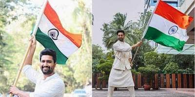 Here's How Bollywood And Tollywood Celebs Wished Their Fans On 73rd Independence Day