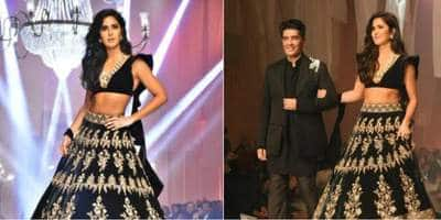 LFW 2019: Katrina Kaif Stuns In Black As She Turns Showstopper For Manish Malhotra