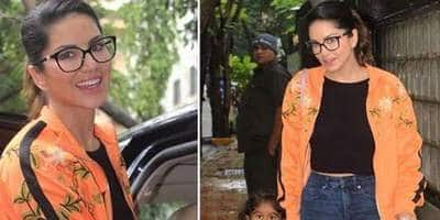 Sunny Leone's Geek Chic Look Reminds Us Why Casual Fashion Is The Best