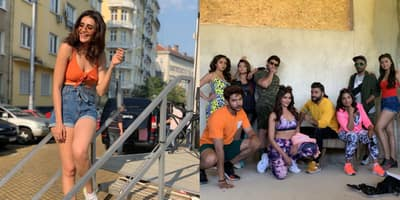 Khatron Ke Khiladi 10: Karishma Tanna Looks Completely Chill Before The Shoot of The Show, Shares Pictures With Co-Contestants