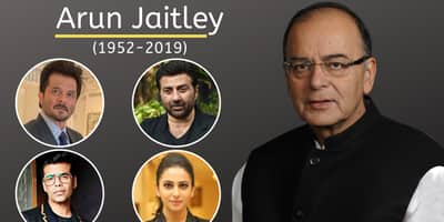 Arun Jaitley's Demise: Anil Kapoor, Karan Johar And Other Bollywood Celebs Pay Their Last Tribute To Ex Finance Minister!