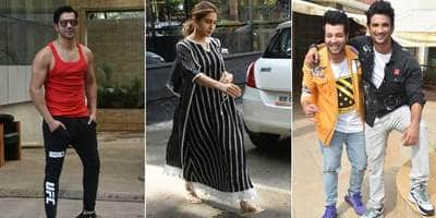 Spotted: Varun Dhawan Look Dapper In Casuals, Sushant Singh Rajput And Team Promotes Chhichhore